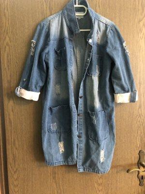Bluzka jeansowa Wielokolorowy
