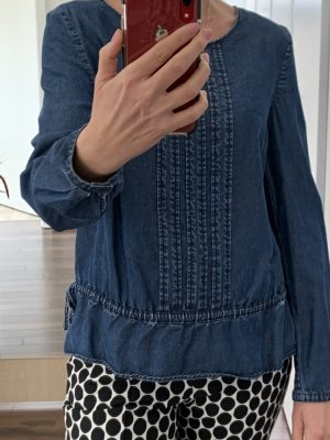 Boss Orange Denim Blouse blue
