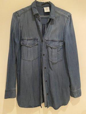 H&M Jeansowa koszula ciemnoniebieski