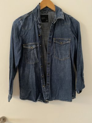 H&M Denim Shirt dark blue