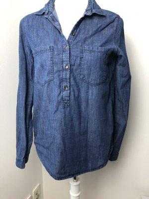 H&M L.O.G.G. Camicia denim blu