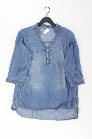 Blusa denim blu-blu neon-blu scuro-azzurro