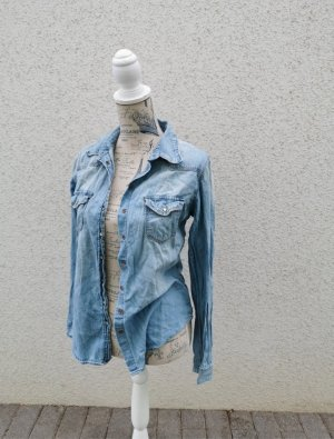 H&M Bluzka jeansowa jasnoniebieski