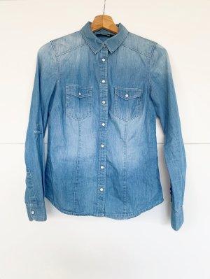 Tally Weijl Blouse en jean multicolore coton