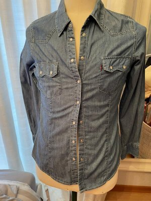 Levi's Bluzka jeansowa niebieski