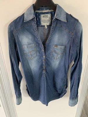 M.O.D. Blouse en jean bleu azur