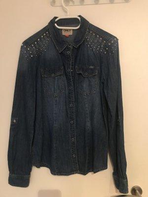 Only Bluzka jeansowa jasnoniebieski
