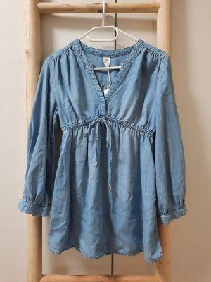 H&M Denim Blouse blue