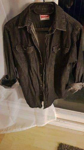 Jeansbluse Vintage