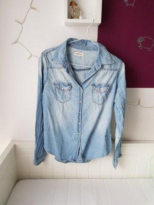 Jeansbluse von H&M denim