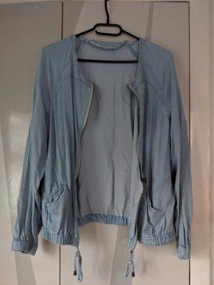 Jeansfarbene Jacke / Blouson Gr. S/M