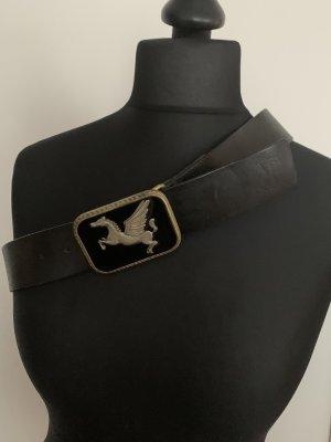 Jeansgürtel - Leder- schwarz Gr. 90