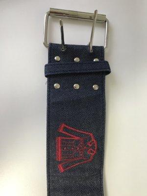 Cinturón de tela multicolor Algodón