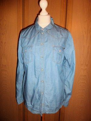 Esprit Blouse en jean bleu fluo