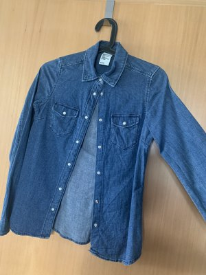 & DENIM Denim Shirt blue-dark blue
