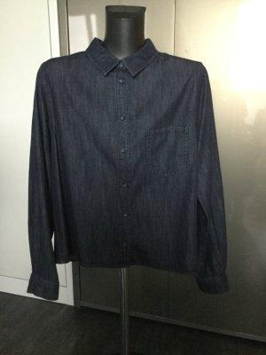 Opus Spijkershirt donkerblauw