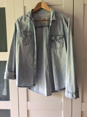 Abercrombie & Fitch Camicia denim azzurro