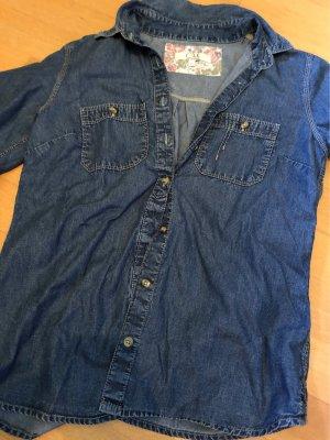 C&A Clockhouse Chemise en jean bleu