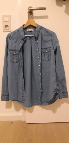 H&M L.O.G.G. Denim Shirt blue