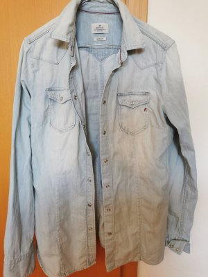 Replay Denim Shirt pale blue