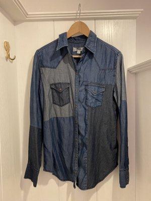 Diesel Jeansowa koszula Wielokolorowy