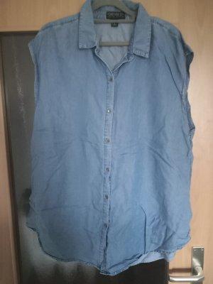 Forever 21 Short Sleeve Shirt blue-dark blue