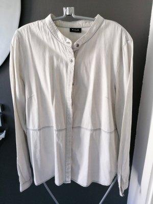 Vila Blouse en jean gris clair