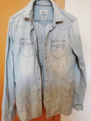 Replay Jeansowa koszula jasnoniebieski
