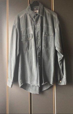 angelo litrico Denim Shirt grey