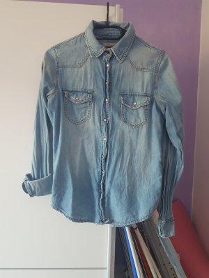 H&M Jeansowa koszula Wielokolorowy
