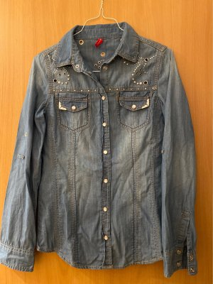 Toxik3 Denim Shirt blue