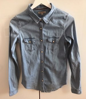 Review Denim Shirt blue-slate-gray