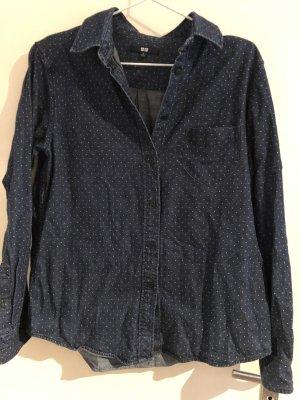 Uniqlo Denim Shirt slate-gray