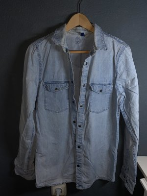 H&M Denim Shirt azure