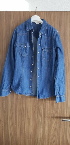 H&M Denim Shirt blue