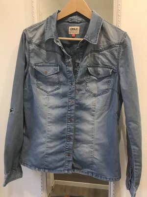 Only Denim Shirt light blue