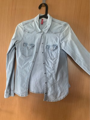 H&M Divided Denim Shirt multicolored