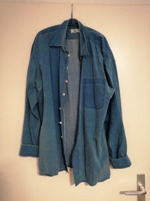 C&A Camicia denim blu-blu acciaio