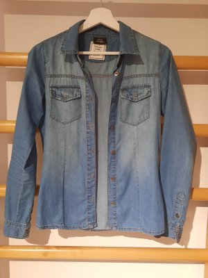 Page one Young Camicia denim blu fiordaliso