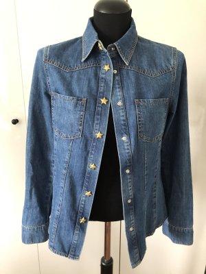 Escada Sport Blouse en jean bleuet-bleu acier