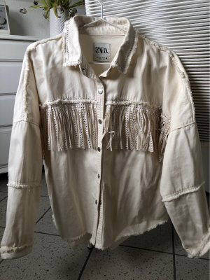 Zara Denim Shirt natural white