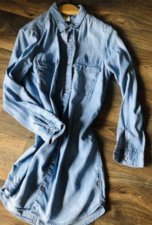 & DENIM Jeans blouse blauw