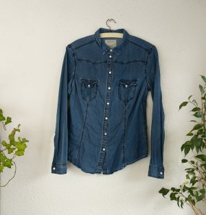 Atmosphere Jeans blouse blauw