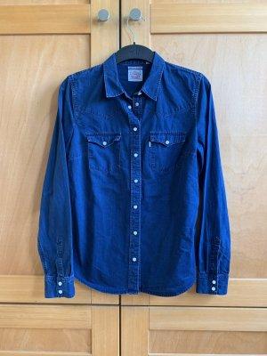 Levi's Denim Shirt dark blue