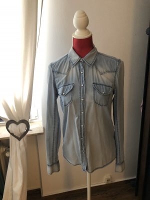 New Yorker Blusa denim blu