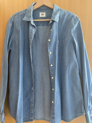 Lee jeans Denim Shirt steel blue-cornflower blue