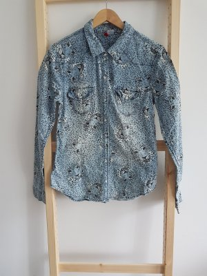 H&M Divided Jeansowa koszula Wielokolorowy