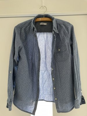 Colins Jeansowa koszula niebieski