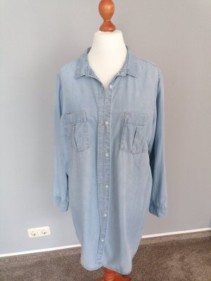 jeanshemd Hemdbluse longbluse