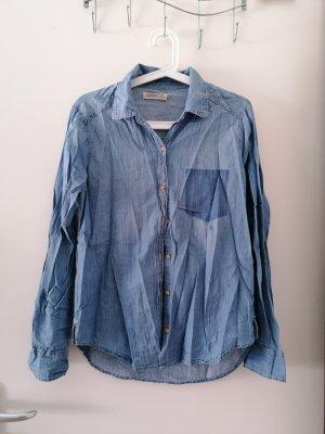 Hollister Denim Shirt light blue-blue